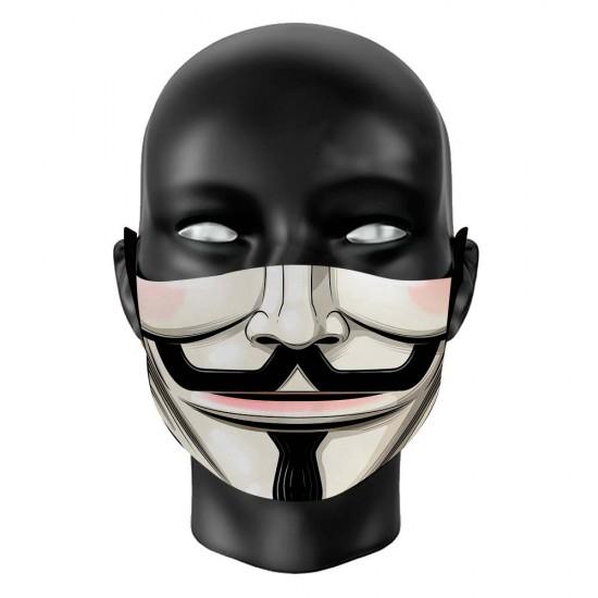 Máscara de Proteção - Anonymous V De Vingança