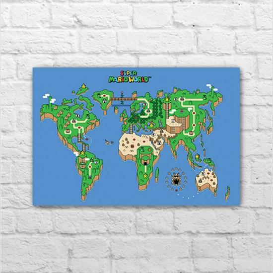 Placa - Super Mario World - Mapa
