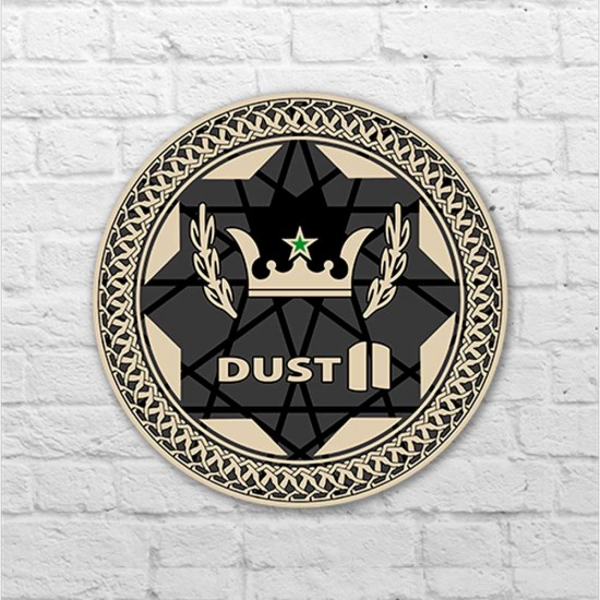 Placa - Dust 2 Pin - Nova Versão