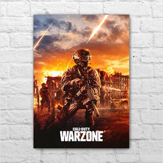 Placa - Call of Duty Modern Warfare - Warzone
