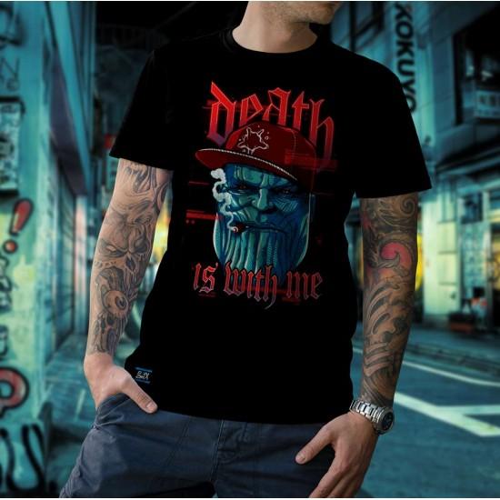 Camiseta - Thanos - A Morte está Comigo