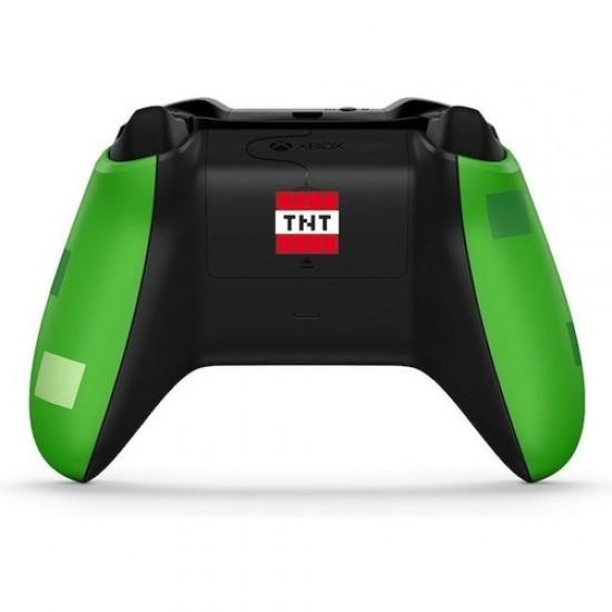 Controle Xbox One S Minecraft Creeper Sem Fio Original