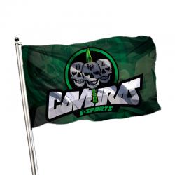 Bandeira - Caveiras - E-sports Oficial