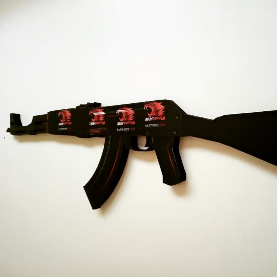 AK-47 - Redline - MDF - StatTrak™ - iBUYPOWER (Holo) | Katowice 2014