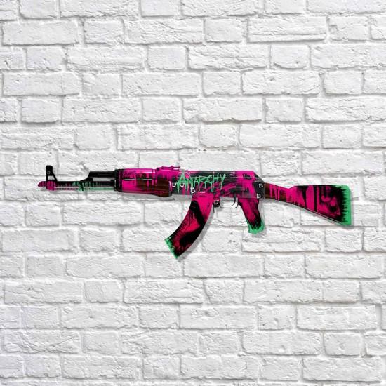 AK-47 - Neon Revolution - MDF