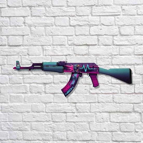 AK-47 - Neon Rider - MDF