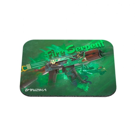 Mousepad - AK-47 - Fire Serpent - PZK