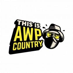 Adesivo - AWP Country