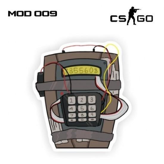 Adesivo - Bomb - C4
