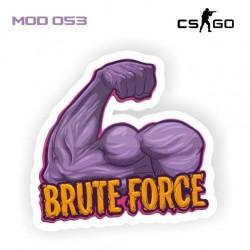 Adesivo - Brute Force