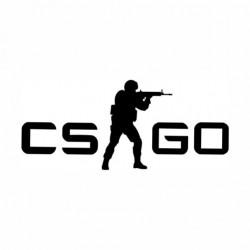 Adesivo - CSGO - Logo - Várias Cores