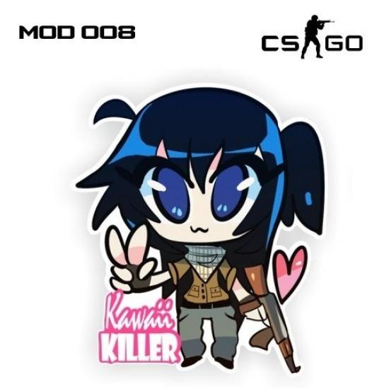 Adesivo - Kawaii Killer Terrorist