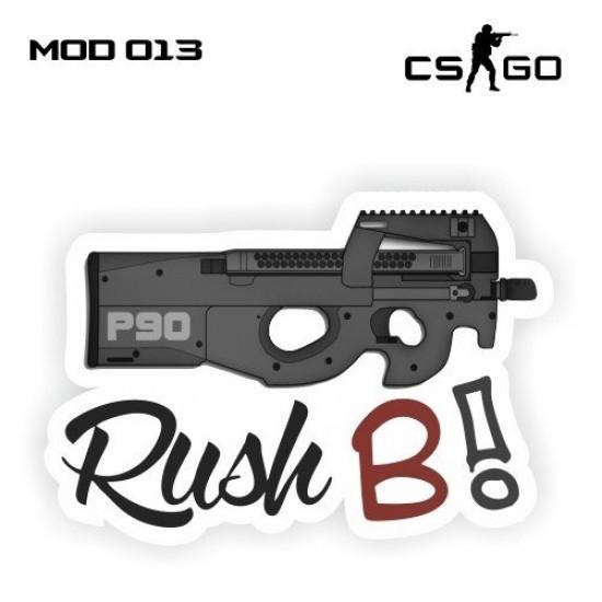 Adesivo - P90 Rush B!