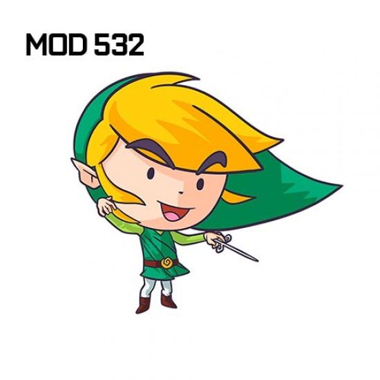 Adesivo -  Zelda cav