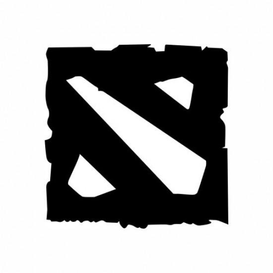 Adesivo - Dota 2 - Logo - Várias Cores