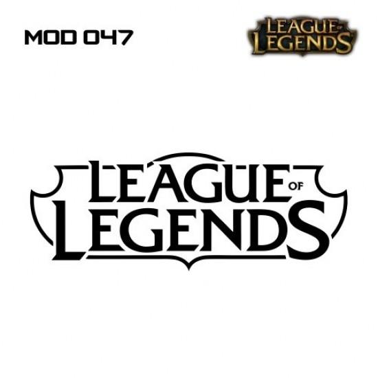 Adesivo - LOL - Logo - Várias Cores