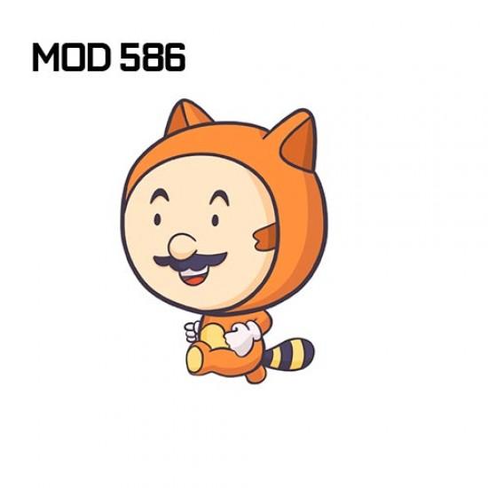 Adesivo -  Mario Fantasy