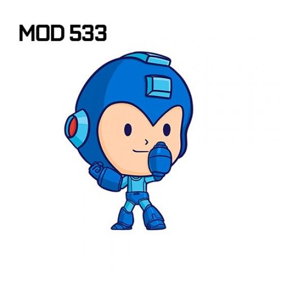 Adesivo -  Megaman blue