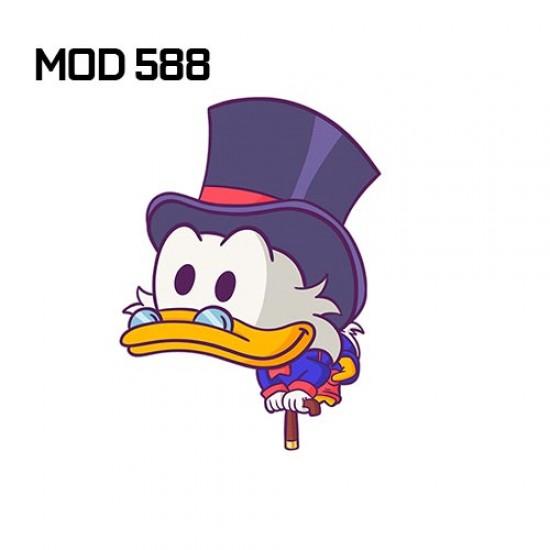 Adesivo -  Pato Donalds Cartoon