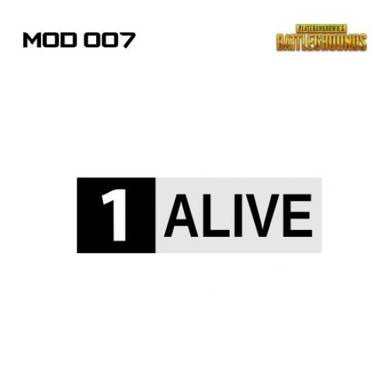 Adesivo - 1 ALIVE