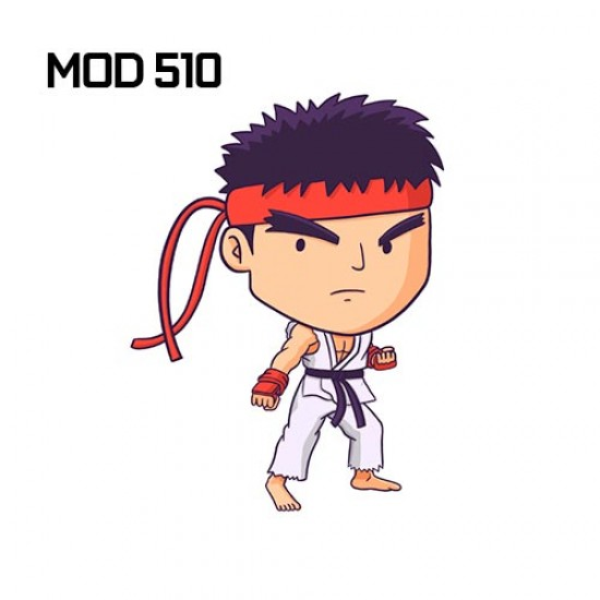 Adesivo -  Ryu cartoon