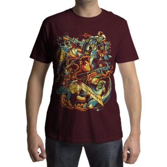 Camiseta - Games Anos 90