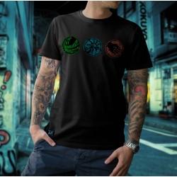 Camiseta - Agilidade - Inteligência - Força