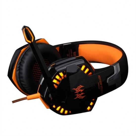 Headset Gamer - Kotion Each G2000 - Led - Orange