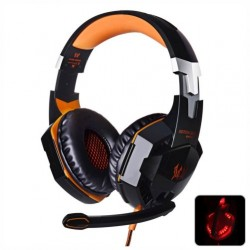 Headset Gamer - Kotion Each G2000 - Led - Orange