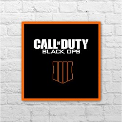 Placa - Call of Duty Black Ops 4
