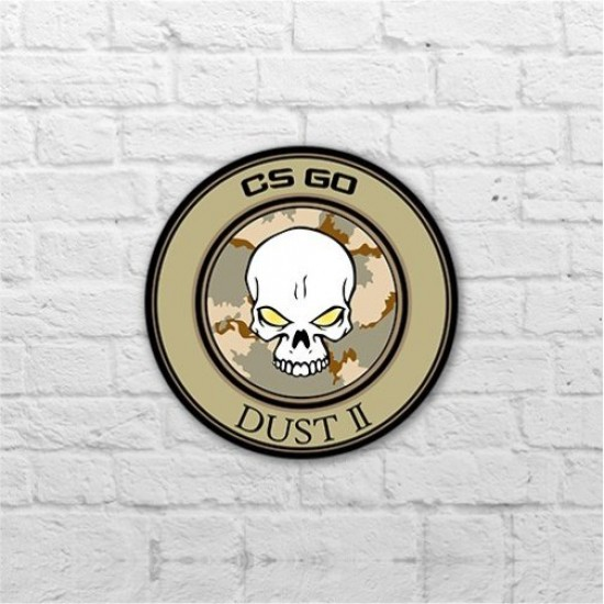 Placa - Dust 2 Pin