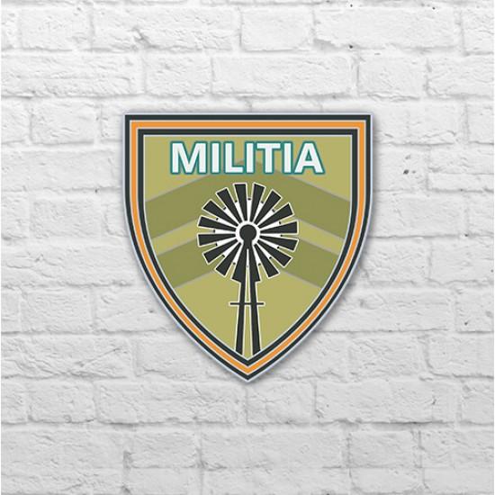 Placa - Militia Pin