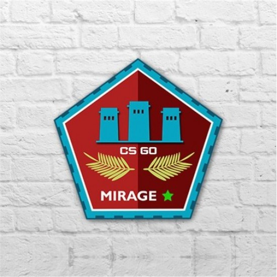 Placa - Mirage Pin