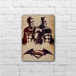 Placa - Batman VS Superan - Dawn of Justice
