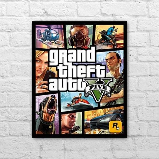 Placa - GTA V - Poster