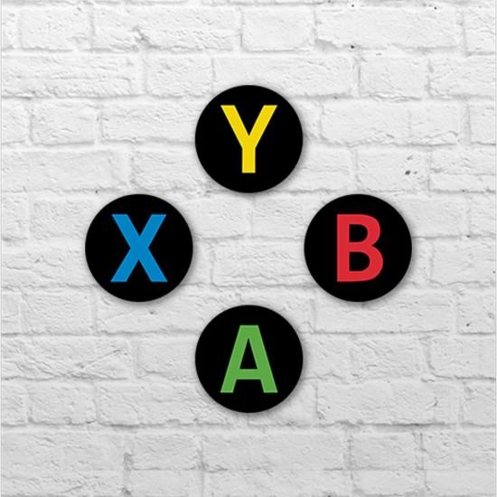 Placa - Botões XBOX