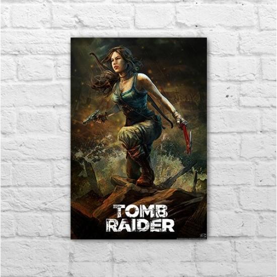 Placa - Tomb Raider - Draw