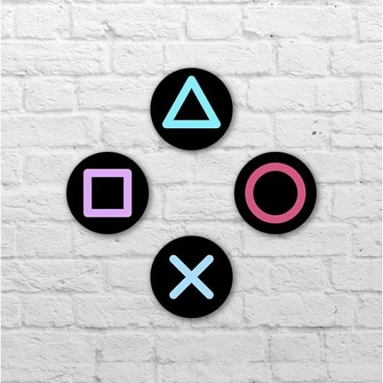 Placa - Botões Sony PS4