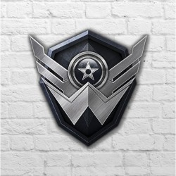 Placa - Warface Logo